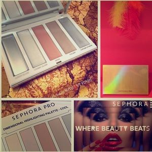 SEPHORA PRO Dimensional Highlighting Palette COOL